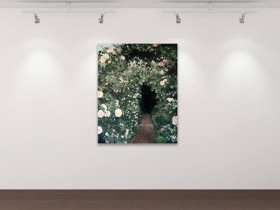 Der geheime Garten - Kunstdruck Gemälde von Stephanie Oncken