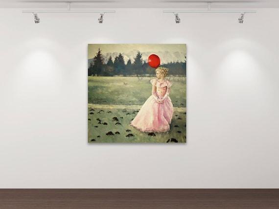 Das Märchen vom Glück 1  - Kunstdruck Gemälde von Stephanie Oncken