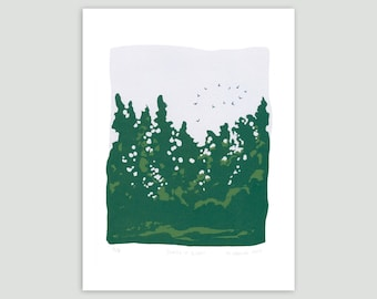 Joining in Flight Screenprint – Limited Edition
