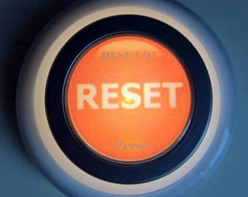 RESET My Truths Life RESET Button & Journal. ReDiscover Who image 0