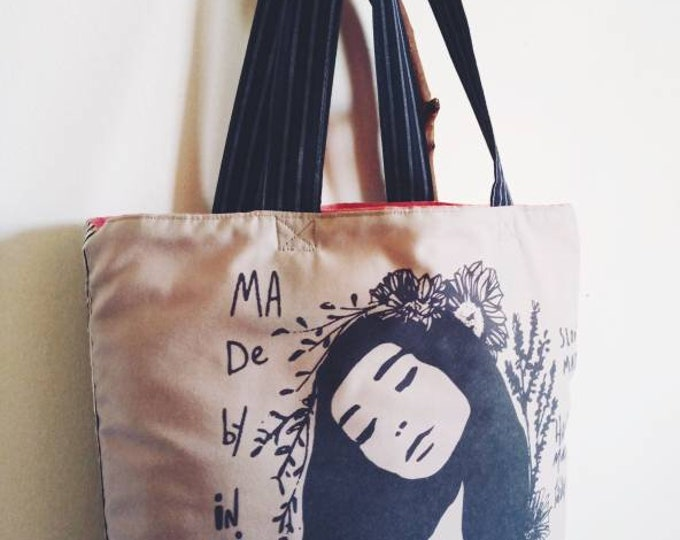 Marie day tote