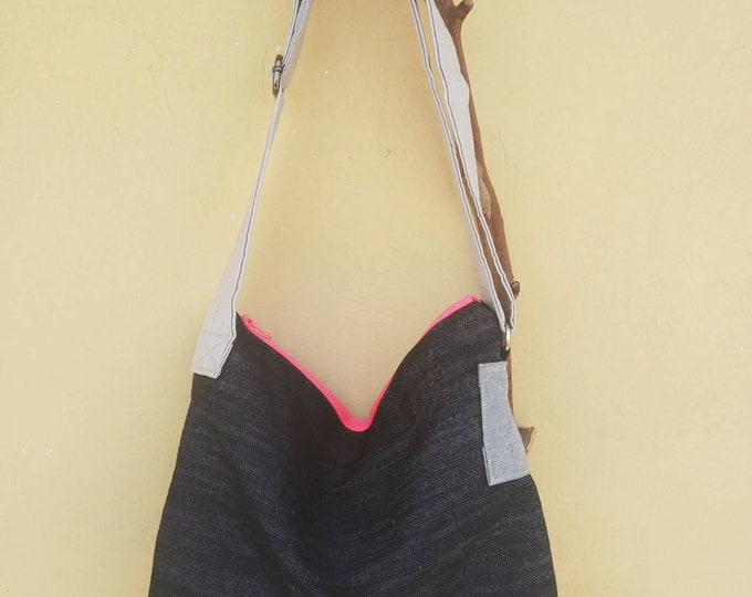 Medium sized cross body bag