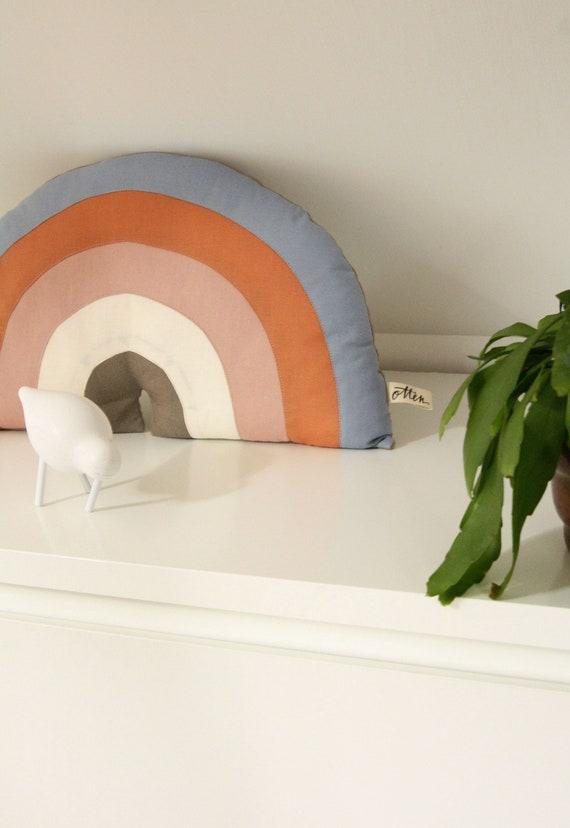 Rainbow Pillow Kinderzimmerdeko Rainbow Pillow Children S Room Children Baby Kids Deco Cushion Rainbow Baby Equipment