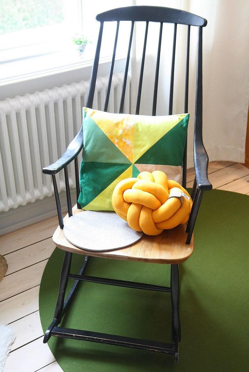 Pillow Knot Pillow Knot Kinderzimmerdeko Designer Pillow Knot Cushion Scandinavian Sofa Pillow Children S Room Deco