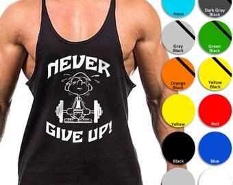 Men/'s New Gold/'s Gym Singlet Active Wear Tank Top OZ Seller