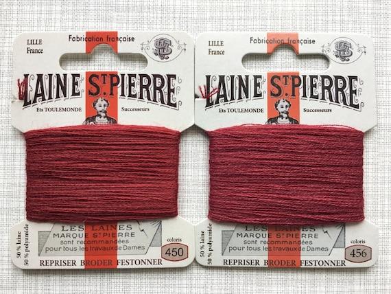 Sajou Gift Box 12 Laine St Pierre Wool Embroidery Threads Autumn Colours