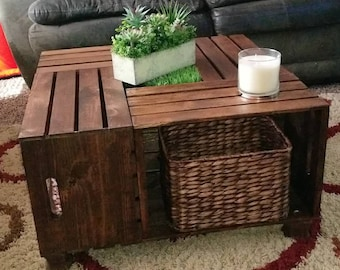 Wine Crate Coffee Table | Etsy