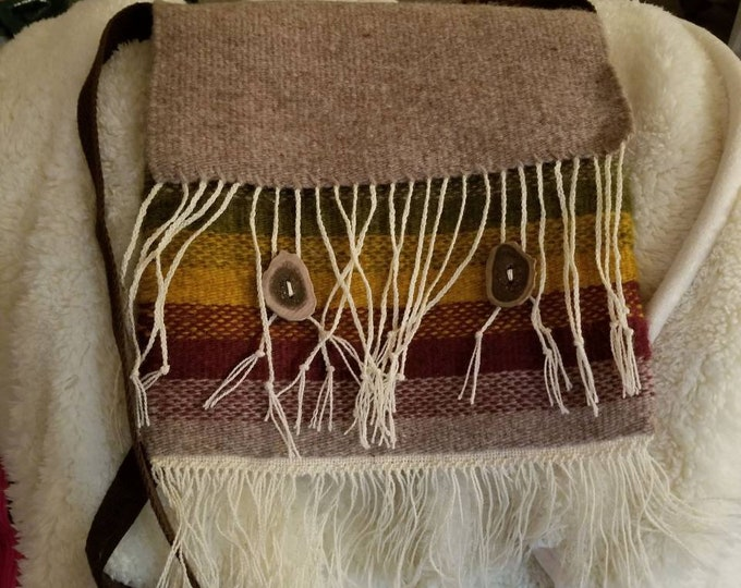 Handwoven Navajo Influenced purse