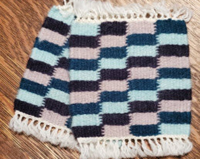 Weft - Faced Wool Coasters