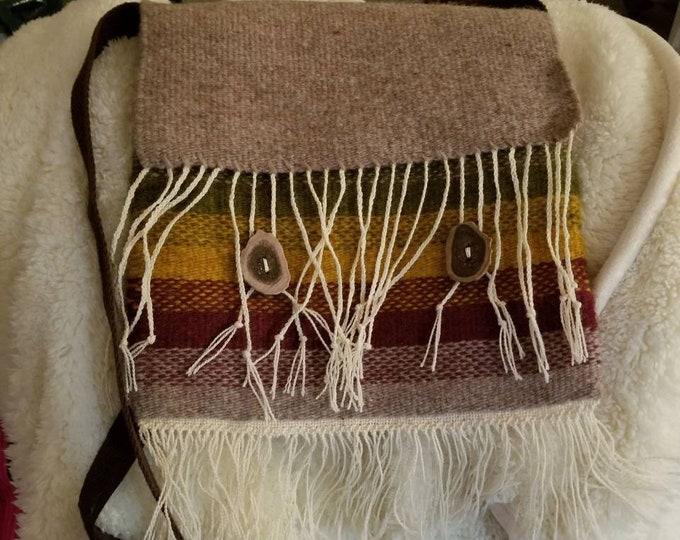 Handwoven Navajo Influenced purse