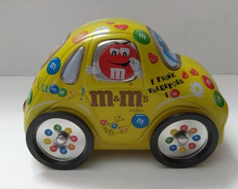 M&M VW Bug Tin container