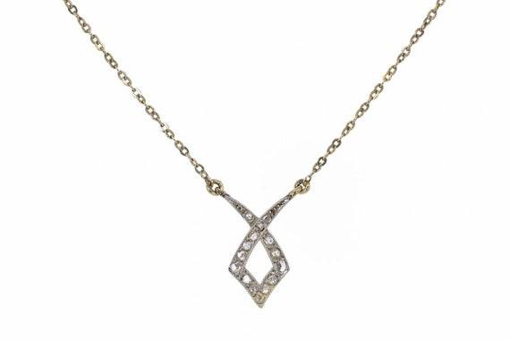 Antique Victorian Pendant Necklace