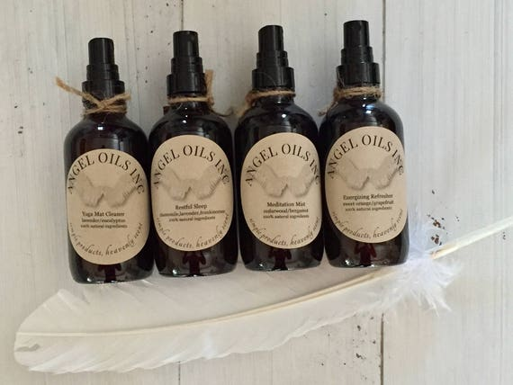 MEDITATION MIST-Pure&Natural cedarwood/bergamot essential oils. Known to ground and calm your spirit. By AngelOilsInc.