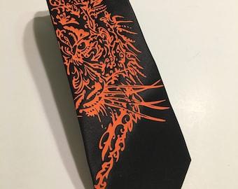 Tiger Necktie, Black
