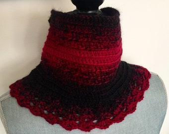 Crochet Lace Cowl - Scarfie Yarn Customize