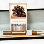 Shawshank Redemption Tree Ballpoint Pen in Textured Antique Brass Steampunk Hardware