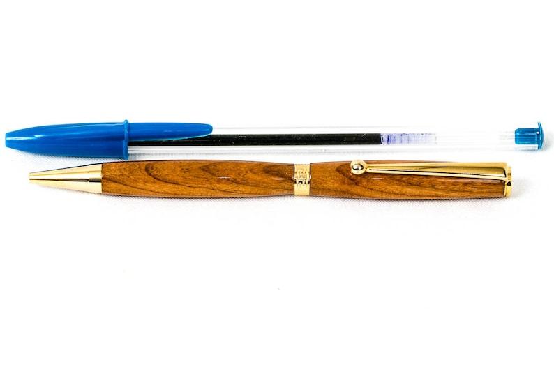 Rainbow Precious Resin Slimline Pen with Chrome Hardware