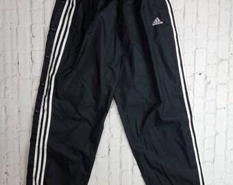 80s adidas pants | Etsy