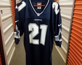 New Year SALE 15% Off RARE Vintage 1996 Original Deion Sanders Dallas  Cowboys Authentic Football Jersey By Nike. Men s Size XL. 714e2e098