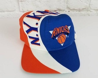 f95a0cf4c8b0f New Year SALE 15% Off Vintage Original 1990 s NBA New York Knicks Snapback  Hat By Twins Enterprise.