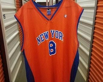 5bb8457ba New Year SALE 15% Off Vintage 90 s Original NBA New York Knicks Latrell  Sprewell Basketball Jersey By Champion. Men s Size 2XL.