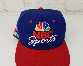 d7ff6cd9 New Year SALE 15% Off Vintage 1990's NBC Sports Television Snapback Hat By  Sports Specialties.