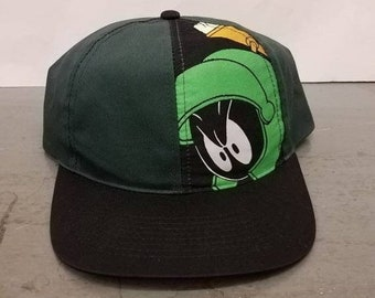 e22680ae cheapest marvin the martian 7 snapback hat 195ee 3ba41; hot new year sale  15 off vintage 1993 original looney tunes marvin the martian six flags