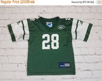 9abf2a3d94c New Year SALE 15% Off Vintage 1990's New York Jets Curtis Martin #28 NFL  football Jersey by Adidas. Size 2T.