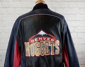 j.h. Jeff Hamilton Large Products Hot Sale Vintage Chicago Bulls Nba Jordan Era Leather Jacket