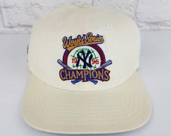 lowest price d908d 00dbc New Year SALE 15% Off Vintage 1996 World Series Champions New York Yankees Snapback  Hat By New Era.