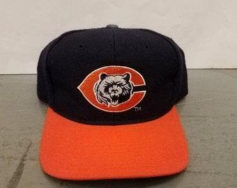 ec4de8bdcb New Year SALE 15% Off Vintage 90 s Original NFL Chicago Bears Plain Logo  Snapback Hat By Starter.