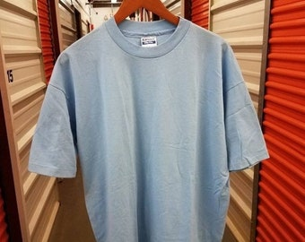 13d2c5ed New Year SALE 15% Off Vintage Original 80's Hanes Fifty Fifty Blank T-Shirt.  Men's Size 2XL.