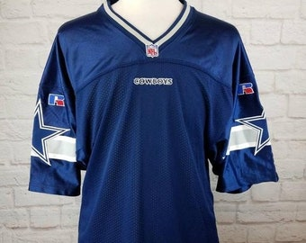 5d7a2a74481 New Year SALE 15% Off RARE Vintage 1990's Authentic Dallas Cowboys Blank  NFL Football Jersey.