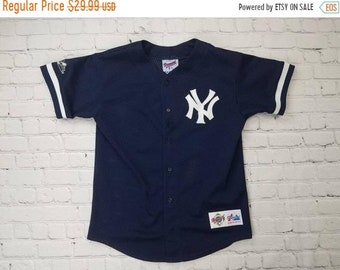 3d289469 New Year SALE 15% Off Vintage 90's Authentic New York Yankees Baseball  Jersey By Majestic.