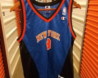 08653e4b0 New Year SALE 15% Off Vintage 90 s Original New York Knicks Latrell  Sprewell Basketball Jersey By Champion. Youth Size XL.
