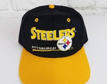 5477f909a New Year SALE 15% Off Vintage 90's NFL Pittsburgh Steelers Snapback Hat By  Eastport.
