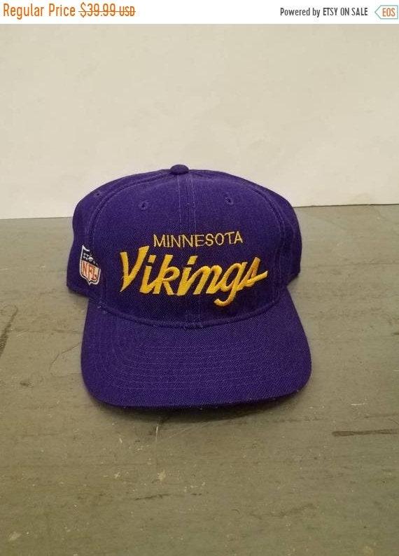 7c746a3263b New Year SALE 15% Off Vintage 80 s Original NFL Minnesota
