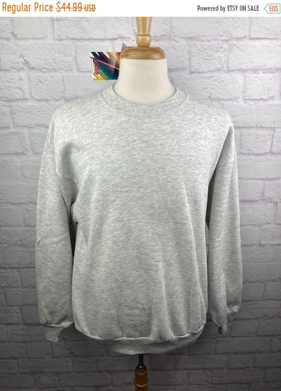 New Year SALE 15% Off Vintage 1990's Jerzees Blank