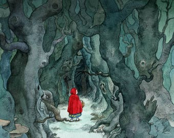 Red Riding Hood - Limited Edition Print