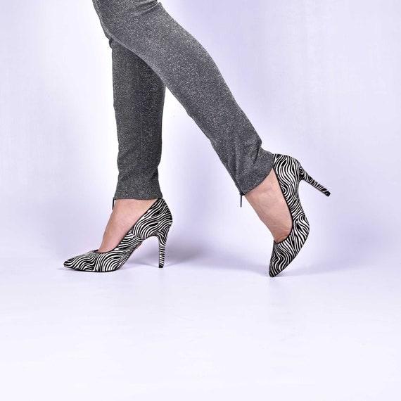 zebra pumps shoes