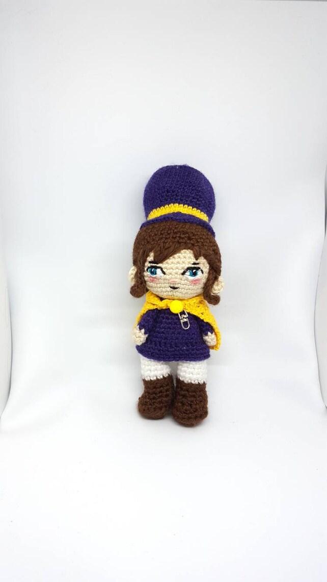 Muñeca crochet Hat kid amigurumi basada en videojuego Hat in | Etsy