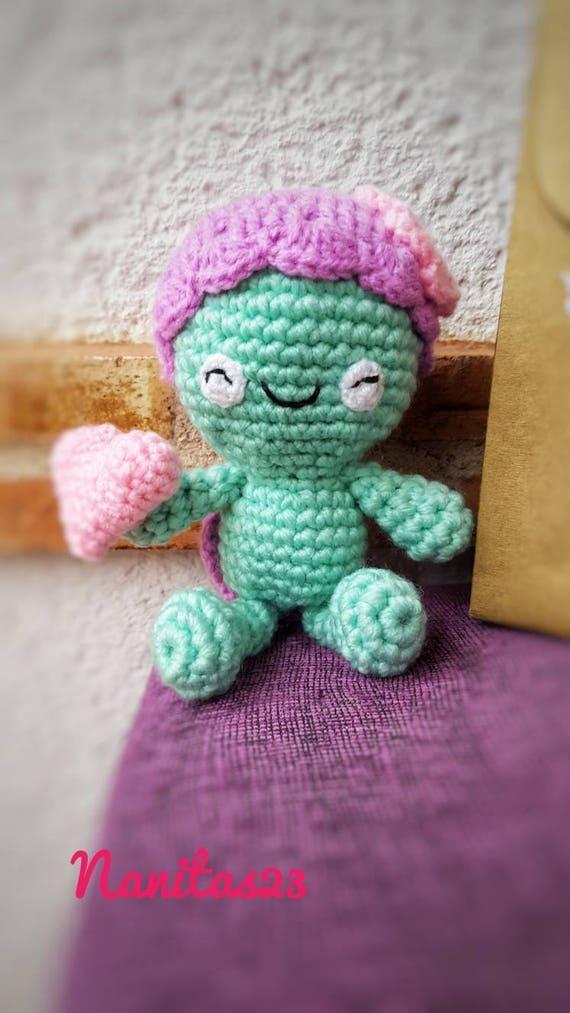 Tortuga muñeco de crochet. Animal de peluche. Amigurumi | Etsy