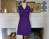 Day dress / summer dress from the 1960s. Size EU 34 / UK 8 / US 4. Waist 70 cm / 27,6 inches