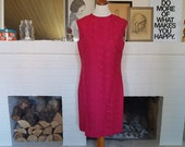 Beautiful day / cocktail / summer dress from the 1960s. Size EU 38 / UK 10 / US 6. Chest 94 cm / 37 inches