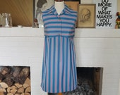 Summer dress from the 1960s. Size EU 34 / UK 8-10 / US 4-6. Chest 91 cm / 35,8 inches