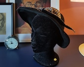 Lovely and rare hat from the 1940s. New look hat. late 1940s hat. Size / inner circumference 51 cm / 20,1 inches