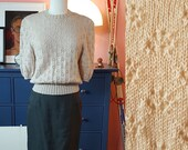 Amazing blouse hand knitted after 1940s pattern - home made. Size EU 38-42 // UK 12-16 // US 8-12. // Waist 78-86 cm / 30,7-33,9 inches