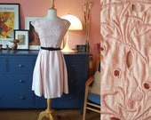 Cocktail dress from the 1960s. Fancy day dress.  Size EU 32 / UK 6 / US 2. Waist 66 cm / 26 inches