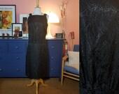 Lovely cocktail dress from the 1960s. Little black dress. Vintage black dress. Size EU 36 / UK 10 / US 6. Drop Waist 84 cm / 33,1 inches.