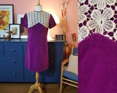 Dress from the 1960s. Size EU 40 / UK 14 / US 10. Chest 98 cm / 38,6 inches